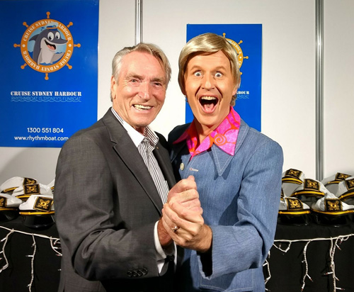 Frank Ifield and Bob Downe