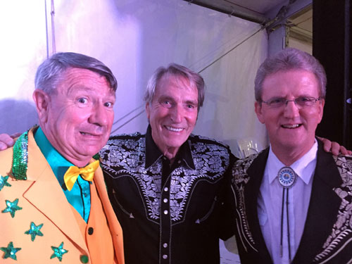 Jim, Frank and Wayne at Stome The Crows Festival 2015