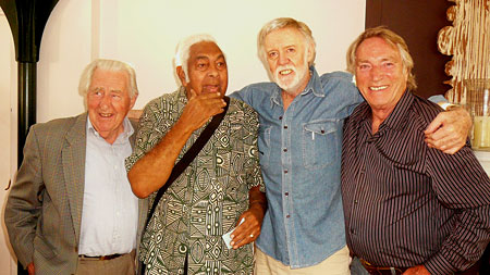 Bruce Harris, Jimmy Little, Barry Crocker, Frank Ifield