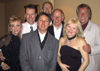 Donna and Frank with the Doug Charles Band