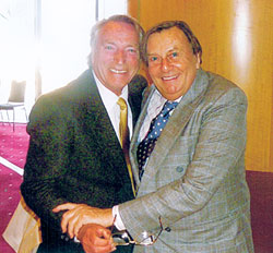 Frank Ifield and Barry Humphries