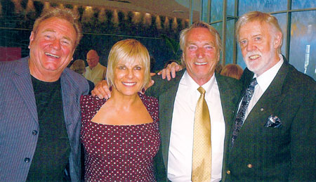 Marty Morton, Susie Elelman, Frank Ifield and Barry Crocker