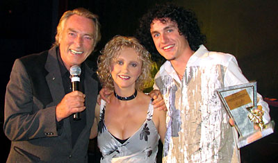 FRANK IFIELD, Presenter DONNA BOYD,  LUKE KOTERAS