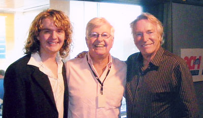 James Cassar, Bob Rogers, Frank Ifield