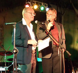 Les Partell and Frank Ifield