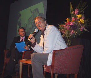 Mark Kristian with Frank Ifield