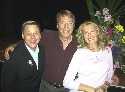 Mark Kristian with Frank and Carole Ifield