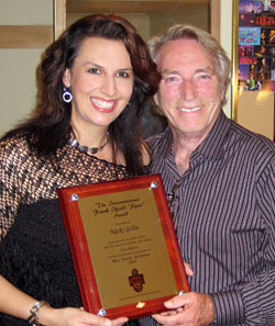 Nicki Gillis - Frank Ifield - photo by Bob Howe