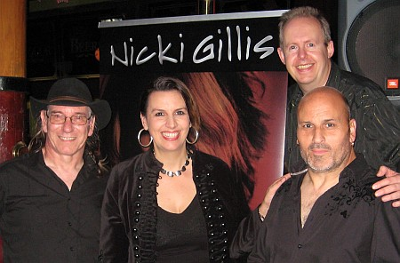 Nicki's UK band