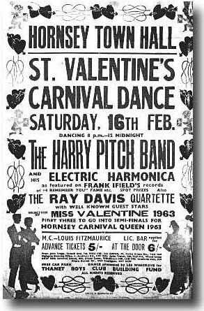 Harry Pitch Band poster