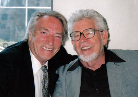 Frank Ifield and Rolf Harris