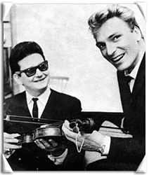 with Roy Orbison
